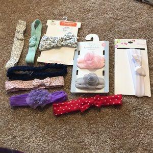 Other - Baby girl headbands bundle!